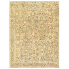 Beautiful Antique Persian Khorassan Carpet. Size: 10 ft 10 in x 13 ft 7 in