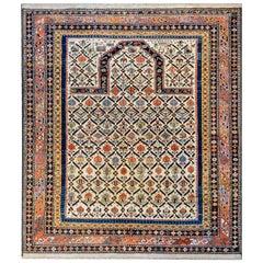 Beautiful Antique Shirvan Prayer Rug