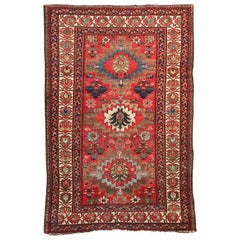 Beautiful Antique Tribal Malayer Style Rug