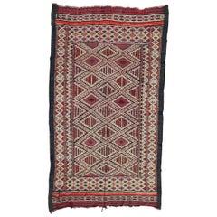 Beautiful Antique Tribal Moroccan Kilim
