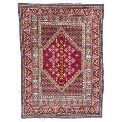 Beautiful Antique Tunisian Kairouan Rug