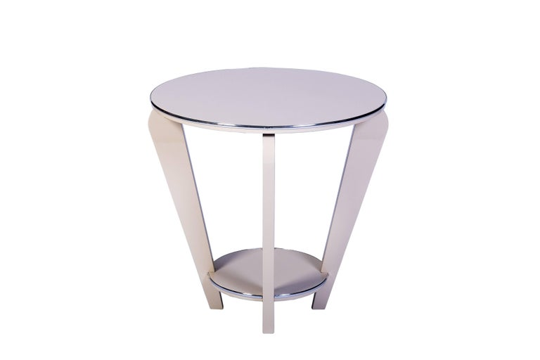 French Beautiful Art Deco End or Side Table