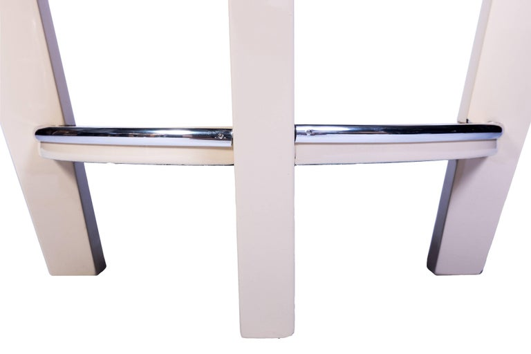 Lacquered Beautiful Art Deco End or Side Table