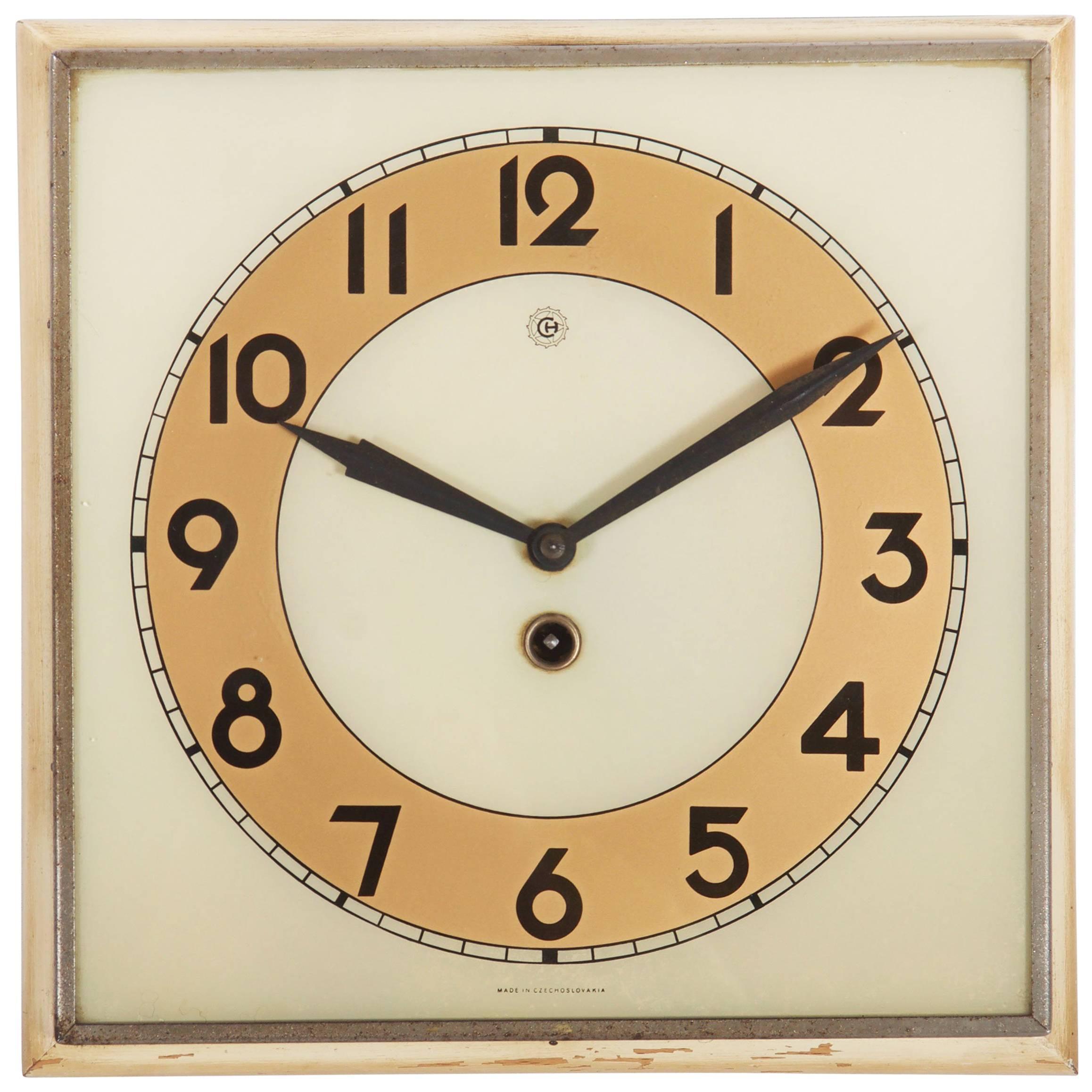 Beautiful Art Deco Wall Clock