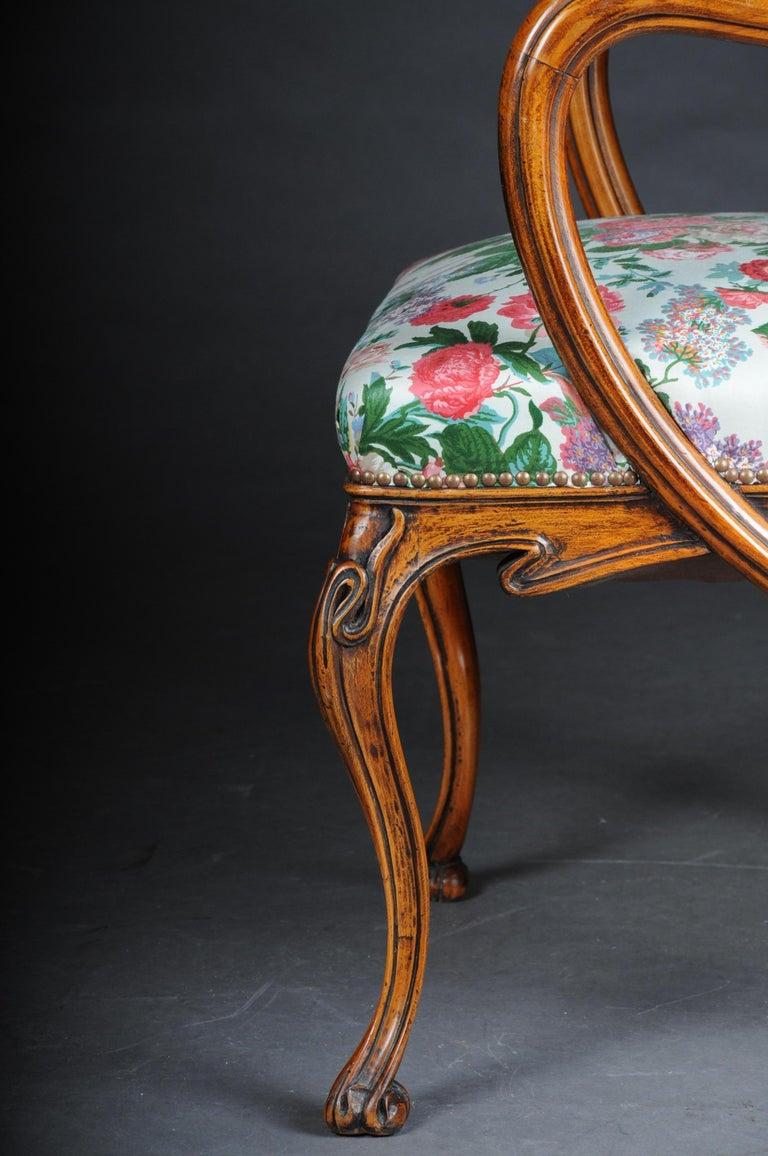 Beautiful Art Nouveau Armchair after L. Majorelle For Sale 1