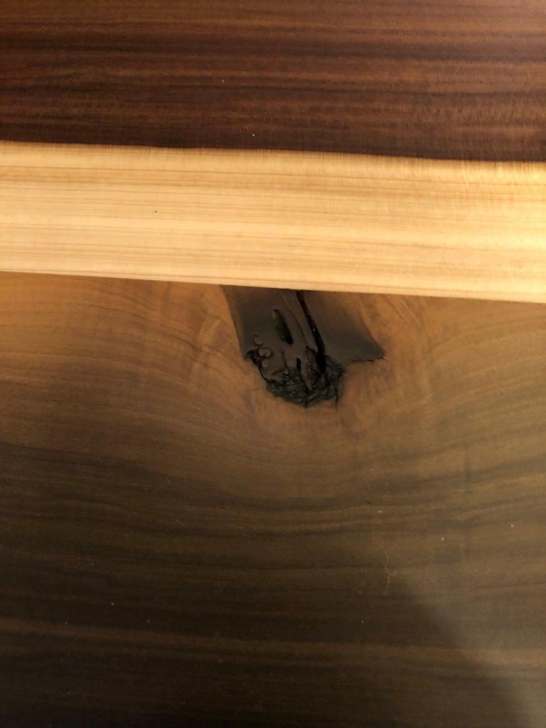 Contemporary Beautiful Artisan Made Amish Poplar Farm Table For Sale