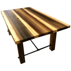 Beautiful Artisan Made Amish Poplar Farm Table