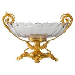 Beautiful Baccarat Crystal Bowl Set