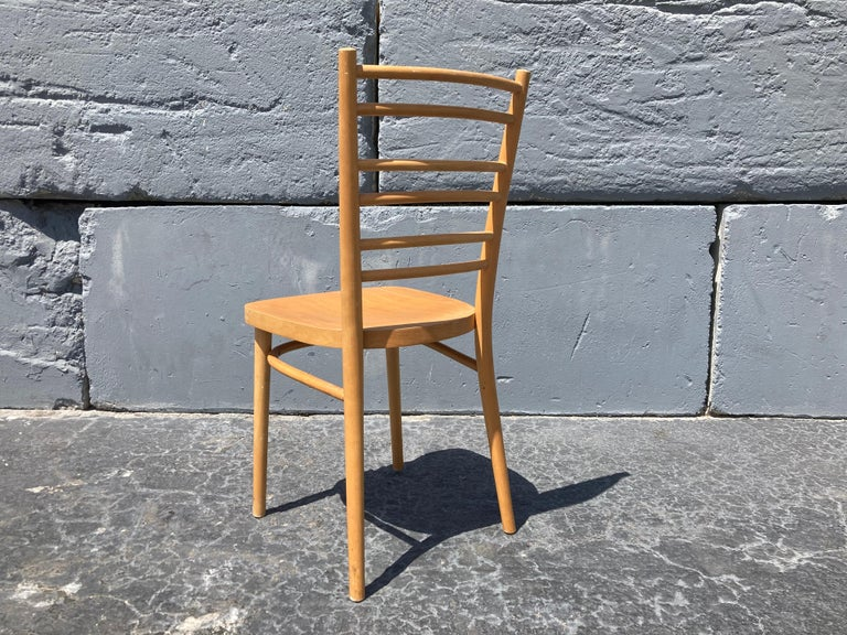 Slovakian Beautiful Bentwood Dining Chairs, in the Style of Thonet For Sale