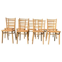 Beautiful Bentwood Dining Chairs, in the Style of Thonet