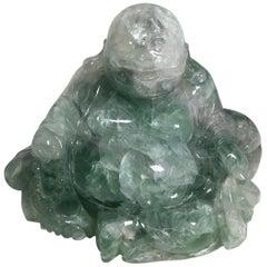Beautiful Carved Fluorite Sculpture