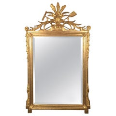 Beautiful Carved Gold Gilt French Style Mirror by Friedman Brothers, circa 1940s