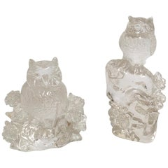 Beautiful Carved Hyaline Quartz 'Rock Crystal' Sculptures