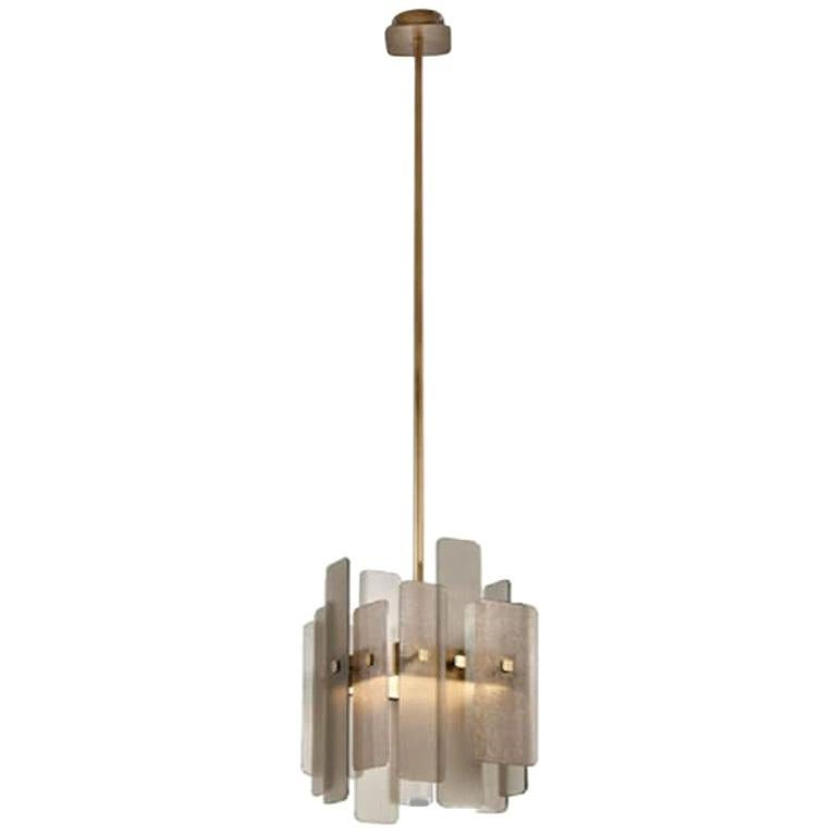 Beautiful Celling Lamp Brass Frame Antique Bronze or Champagne Finish
