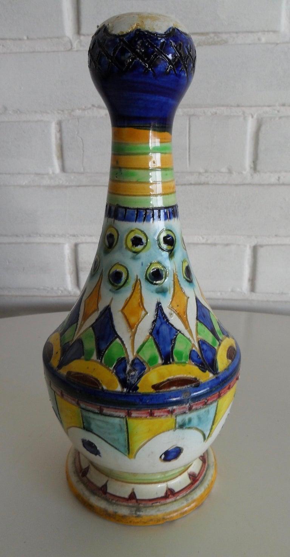 Mid-Century Modern Ceramic Vase, Italy, circa 1950s For Sale