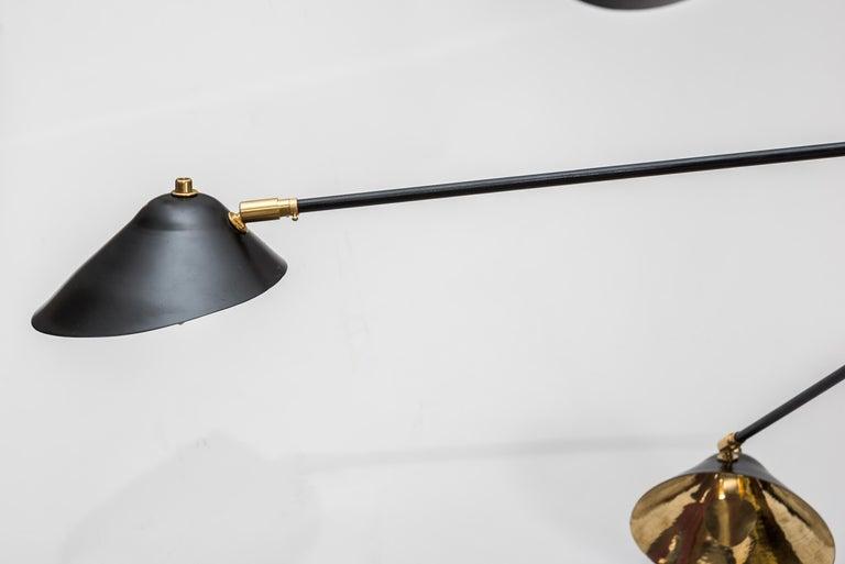 Mid-Century Modern Beautiful Chandelier by Studio Glustin For Sale