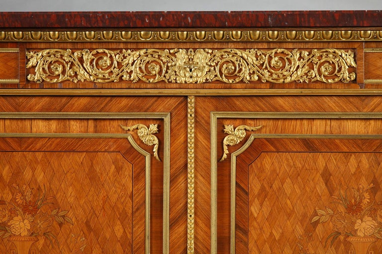 French Beautiful Chest-of-Drawers attributed to G.Grohé For Sale