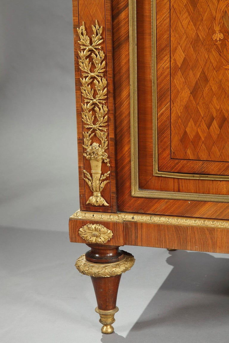 Gilt Beautiful Chest-of-Drawers attributed to G.Grohé For Sale