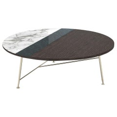 Beautiful Coffee Table Top in Veneered Wood & Vetrite Satined Lacquer Finishing
