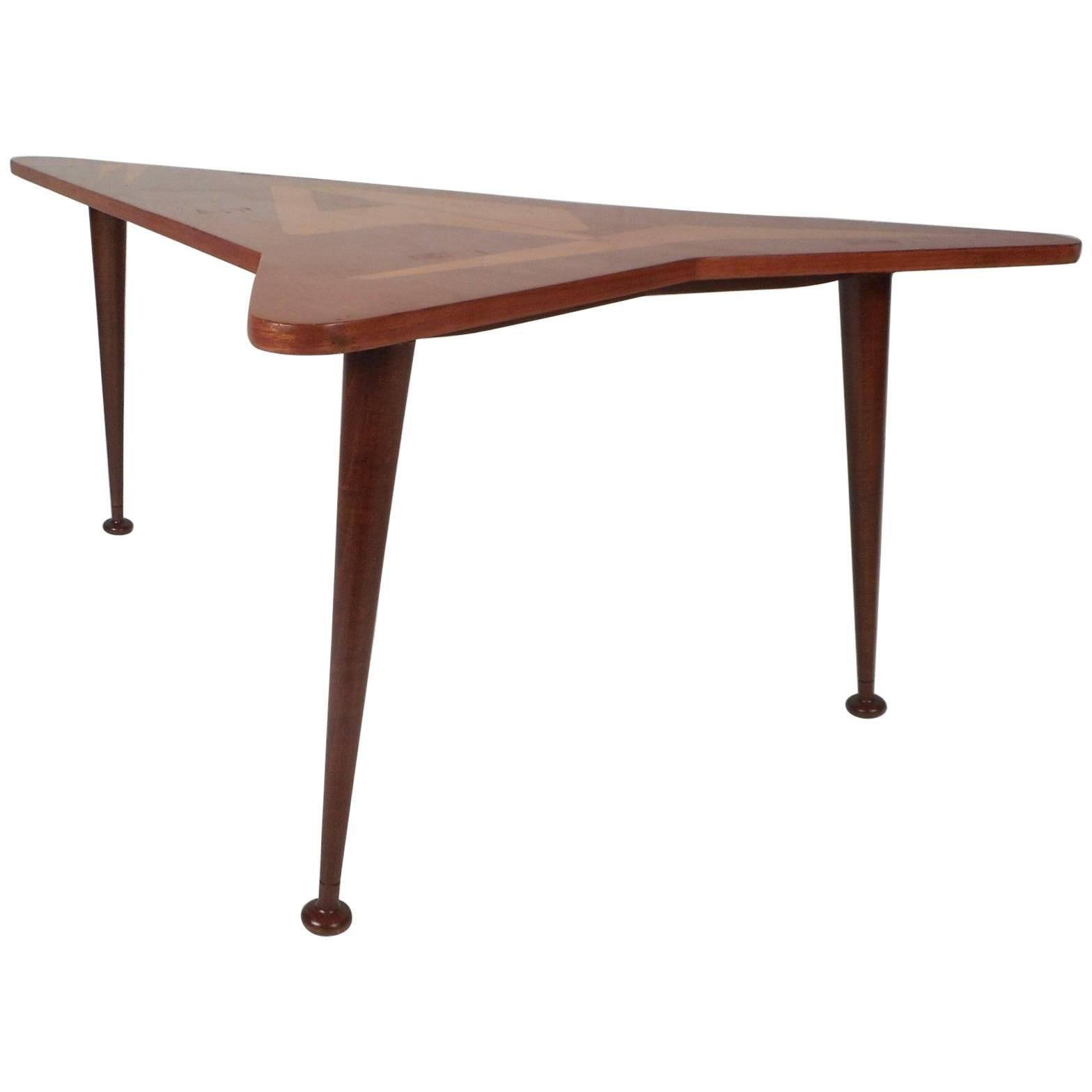 - Beautiful Contemporary Modern Boomerang Coffee Table For Sale At