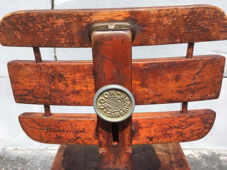 Beautiful Cook Cambridge Desk Chair  In Good Condition In Opa Locka, FL