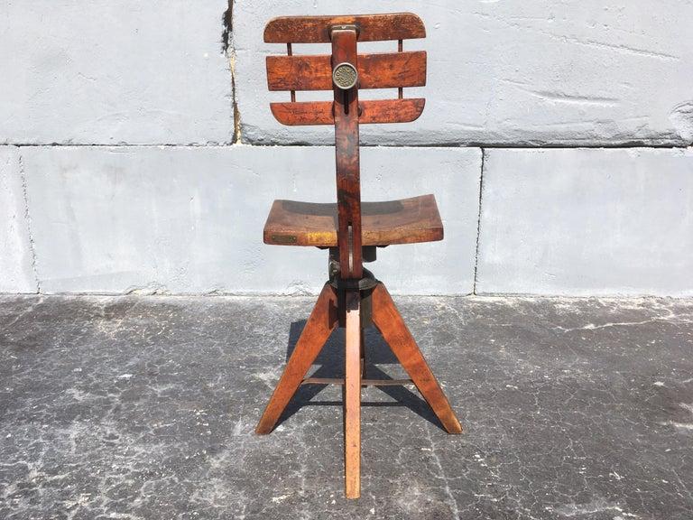 Mid-20th Century Beautiful Cook Cambridge Desk Chair