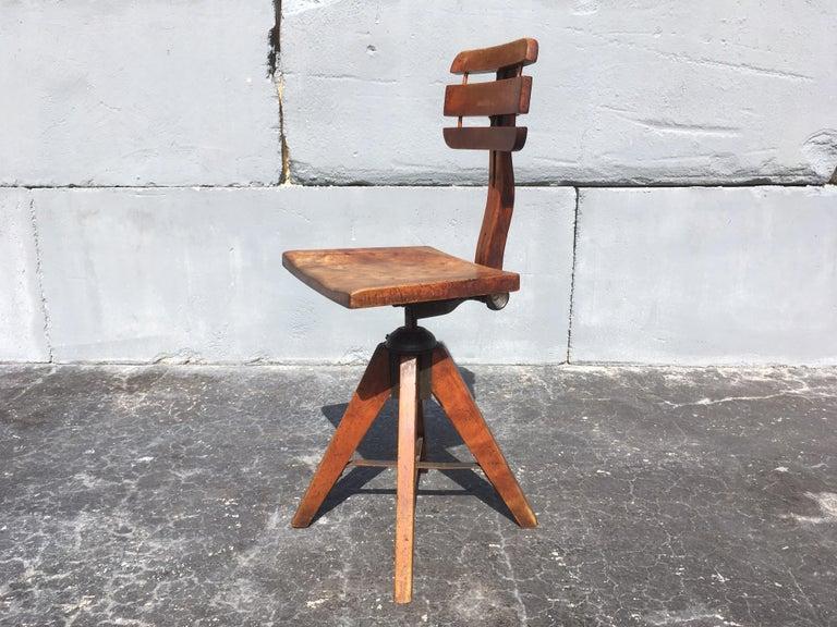 Steel Beautiful Cook Cambridge Desk Chair