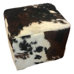 Beautiful Cow Hide Bench or Ottoman
