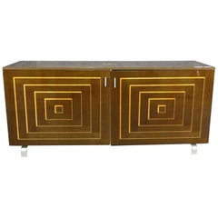 Beautiful Credenza with Inlay