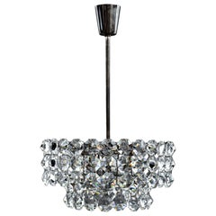 Beautiful Crystal Chandelier by Bakalowits & Sons, Vienna, 1960s