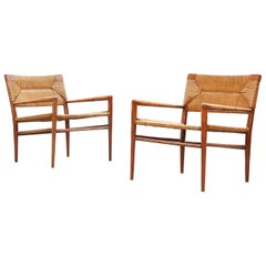 Pair of American Lounge Chairs by Mel Smilow for Smilow-Thielle 1950ies