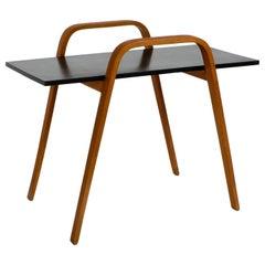 Beautiful Danish Midcentury Teak Side Table in a Minimalistic Design