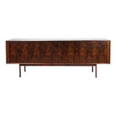 Beautiful Danish Rosewood Sideboard by H. Kjaernulf for Bruno Hansen, 1960s