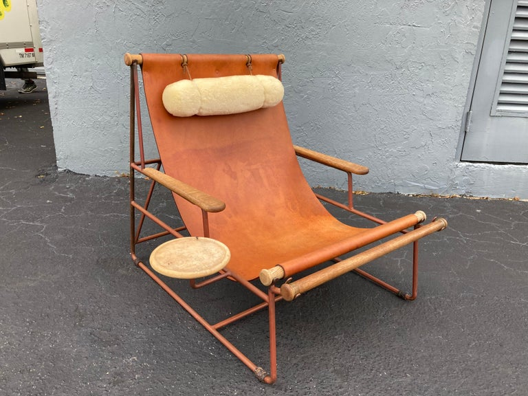 Deck lounge chair designed by Tyler Hays and made by BDDW.