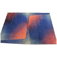 Beautiful Design Midcentury Carpet/Rug, 1970s