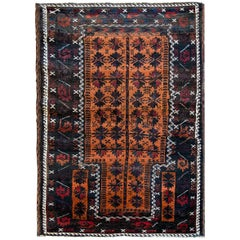 Beautiful Early 20th Century Baluch Prayer Rug