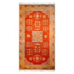Beautiful Early 20th Century Central Asian Khotan Rug
