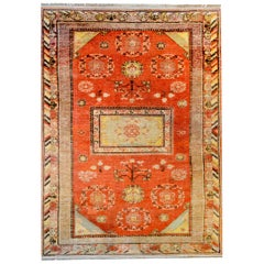 Beautiful Early 20th Century Central Asian Khotan Rug