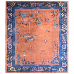 Beautiful Early 20th Century Chinese Art Deco Rug
