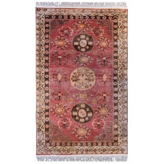 Beautiful Early 20th Century Khotan Rug