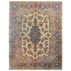 Beautiful Early 20th Century Persian Kirman Rug