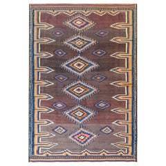Beautiful Early 20th Century Shahsevan Kilim Rug