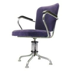 Beautiful Fana Office Chair, Model D3, Dutch Design 1950s