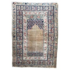 Beautiful Fine Antique Turkish Panderma Rug