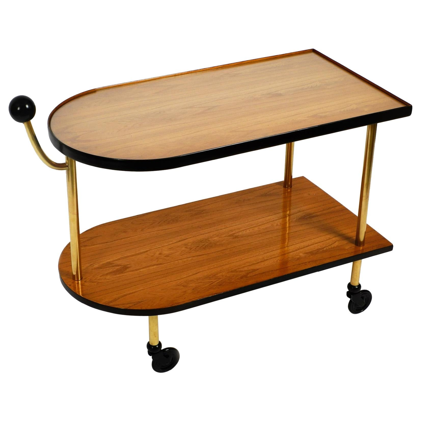 Beautiful French 1930s Art Deco Serving Trolley Recently Completely Restored