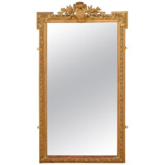 Beautiful French 19th Century Wall Mirror