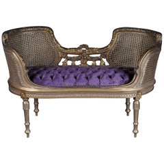 Beautiful French Bench, Sofa in the Louis XVI Style