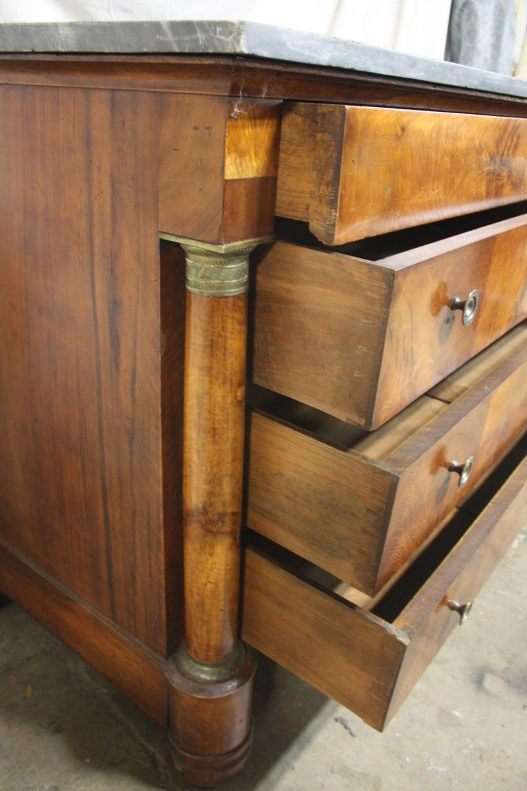 Beautiful French Empire Commode For Sale 3