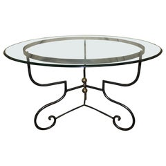Beautiful French Iron Table