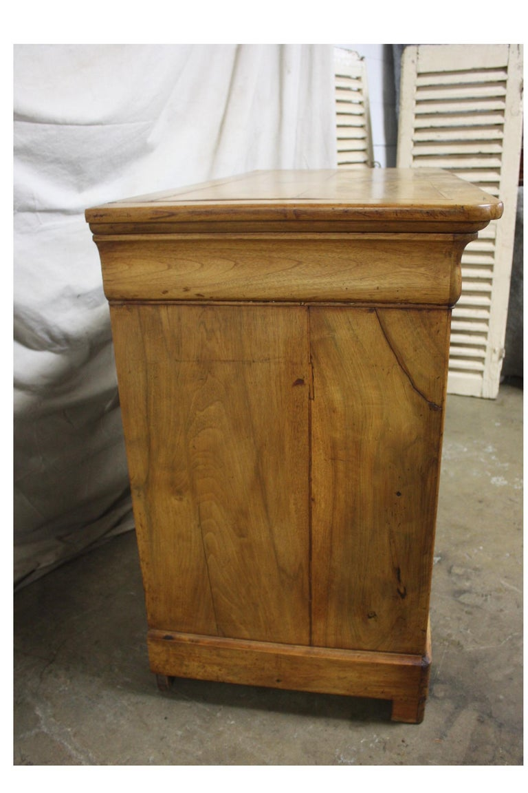 Walnut Beautiful French Louis-Philippe Buffet For Sale